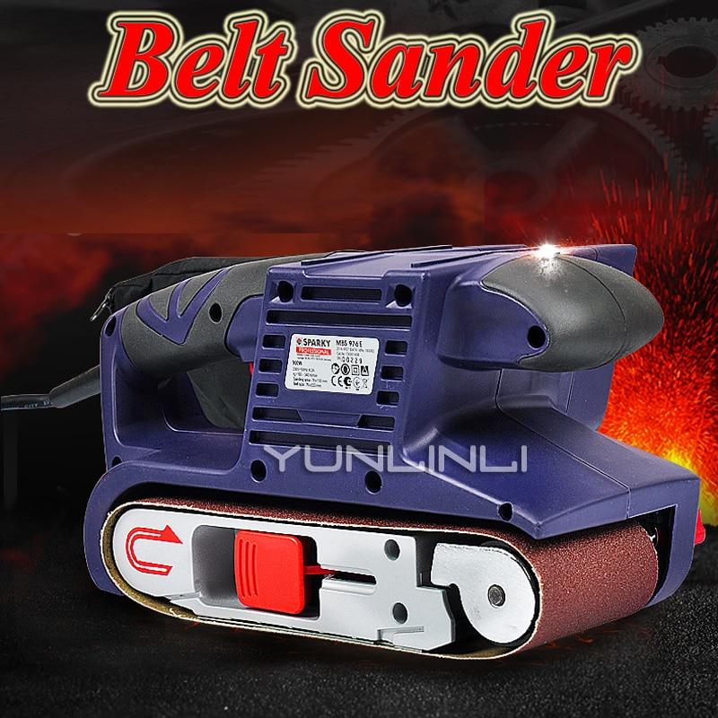 Máquina de pulido de cinta máquina de lijado plana portátil máquina de lijado herramientas eléctricas de carpintería