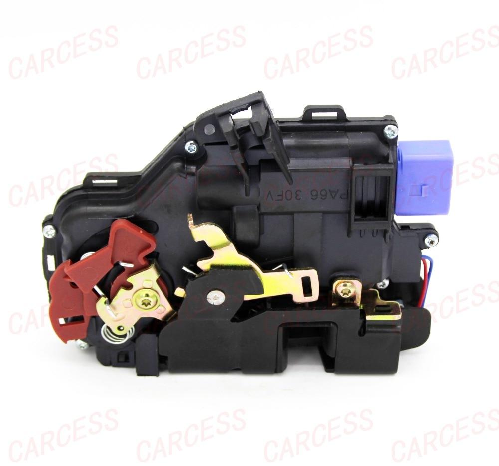 3D1837015AB передний левый Драйвер боковой ЗАМОК ПРИВОД центральный механизм для гольфа 5 V MK5 VW SEAT LEON TOLEDO SKODA OCTAVIA