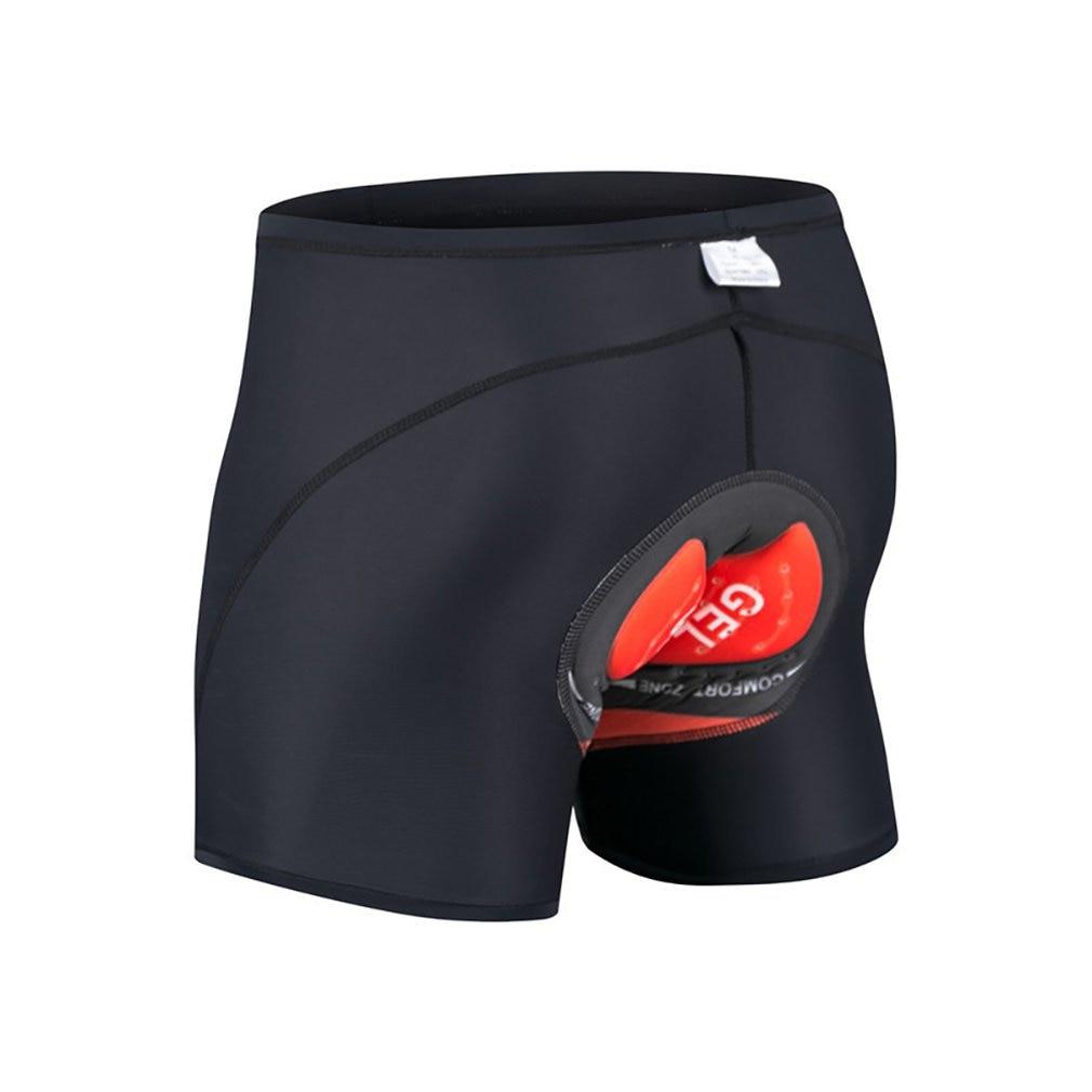 Pantalones cortos de ciclismo con almohadilla de Gel 5D para hombre, ropa interior para ciclismo de montaña, Bermudas, pantalones cortos para hombre
