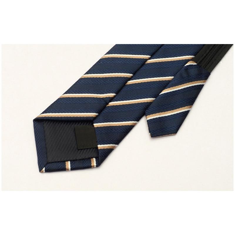 2019 Men Tie High Quality Fashion New Brand Designer Striped Gravata Necktie Business Wedding Party Ties For Men with Gift Box