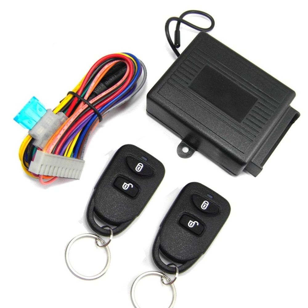 M602-8114 Remote Control Central Locking Kit For KIA Car Door Lock Keyless Entry System With Trunk R