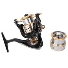 Tsurinoya Fishing Reel Spinning Reel Max Drag 6KG 9 Balls Bearing Fishing Coil with One Spare Spool High Quality