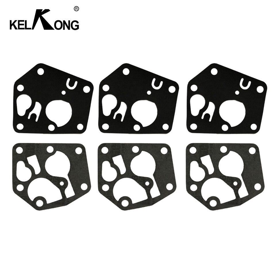 KELKONG 3 juegos junta de diafragma de carburador Kit para Briggs & Stratton 495770 de 795083 a 5083H AE0588 5083K 7721 de 520175