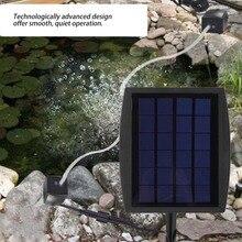 Aireador oxigenador con energía Solar, generador de flujo de aire, oxígeno 1L/min, silencioso, alimentado por energía Solar para piscina al aire libre, estanque, pecera