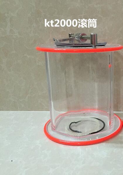Rodillo rotatorio del cilindro del pulidor de joyas KT2000