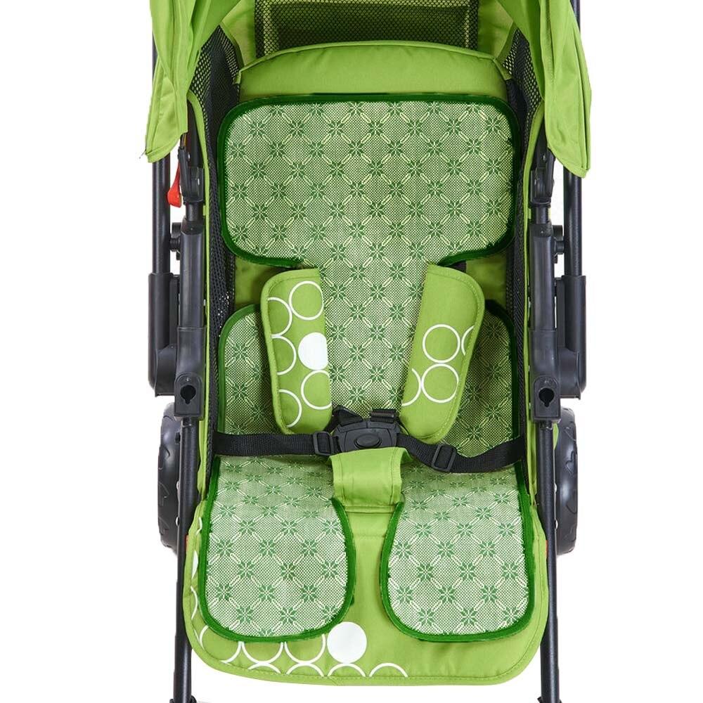 Cochecito de bebé reutilizable de verano de lino, cochecito de bebé, asiento para dormir, alfombrillas frescas, almohadilla para un cochecito, accesorios, cochecito de bebé