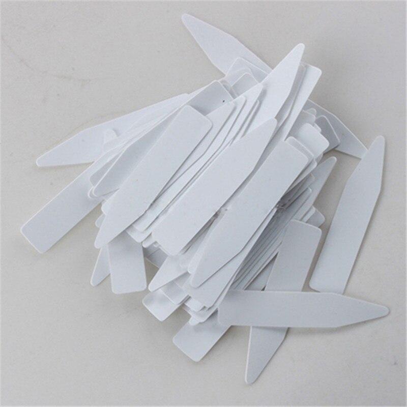 10-100 Uds Mini planta de plástico Etiqueta de semilla marcador de recipiente vivero etiquetas de participación herramienta