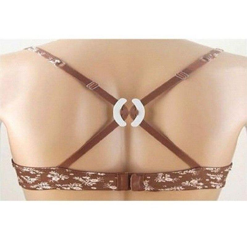 3 pçs/lote venda quente barato feminino push up clivagem controle invisível sutiã cinta cinto clipe fivela antiderrapante fivela