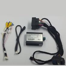Caméra de sauvegarde intégrée   Interface de caméra Parking, affichage Original, mise à jour du dos inversé pour Mercedes A ML GLA GLC GLE