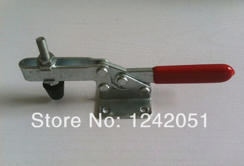 10PCS Metal Horizontal Quick Release Hand Toggle Clamp Tool 201C