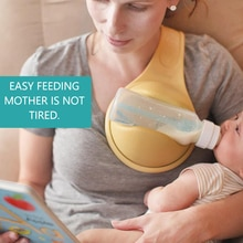 Cremalheira de garrafa mais fácil do bebê da alimentação do pai da múmia