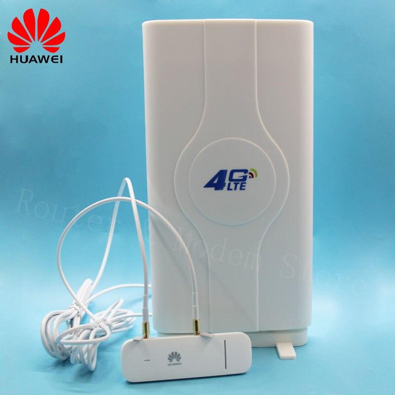 Desbloqueado Huawei 4G Router inalámbrico E3372 E3372h-607 con antena 4G LTE 150Mbps USB módem LTE 4G USB Dongle E3372h-607