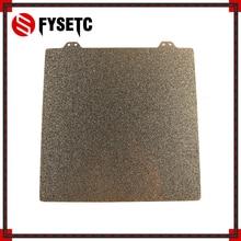 220x220mm doble cara texturizada PEI primavera hoja de acero recubierto de polvo PEI hoja de construcción para Anet A8 A6 wanhao I3 Creality Ender 5