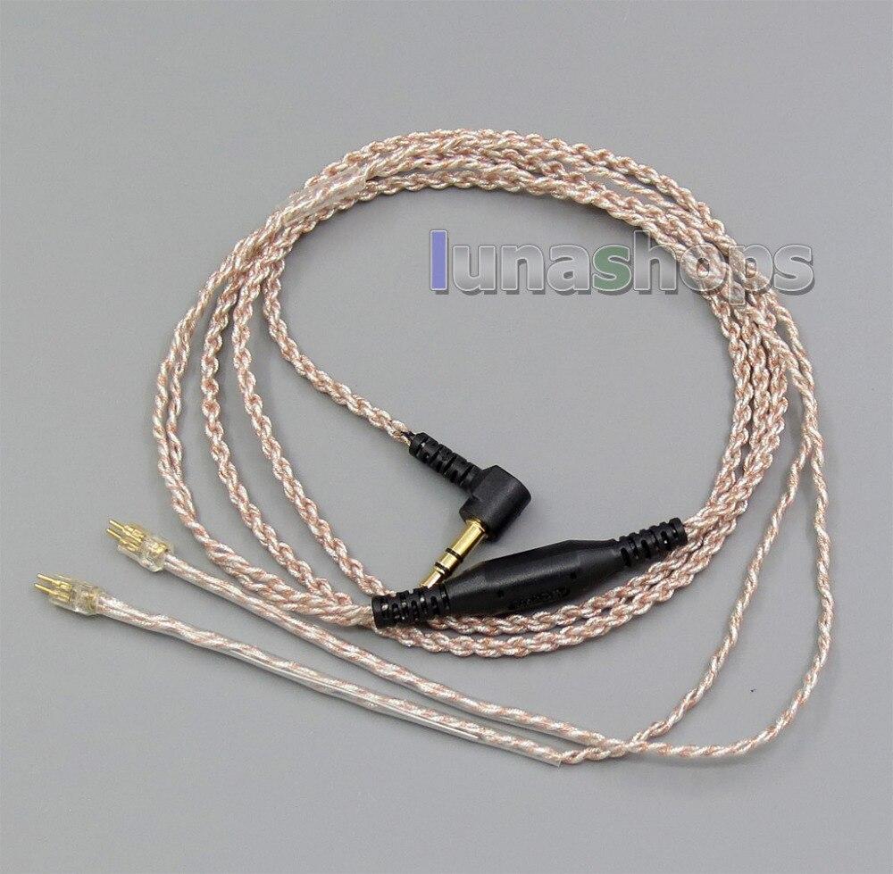EachDIY-auricular Chapado en plata con OCC, Cable de PU de lámina mixta...