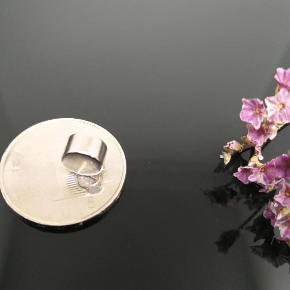 Zion  200pcs Dia 8x4mm mini magnet N35 super strong small round magnet premanent rare earth neodymium magnet disc 8mmx4mm