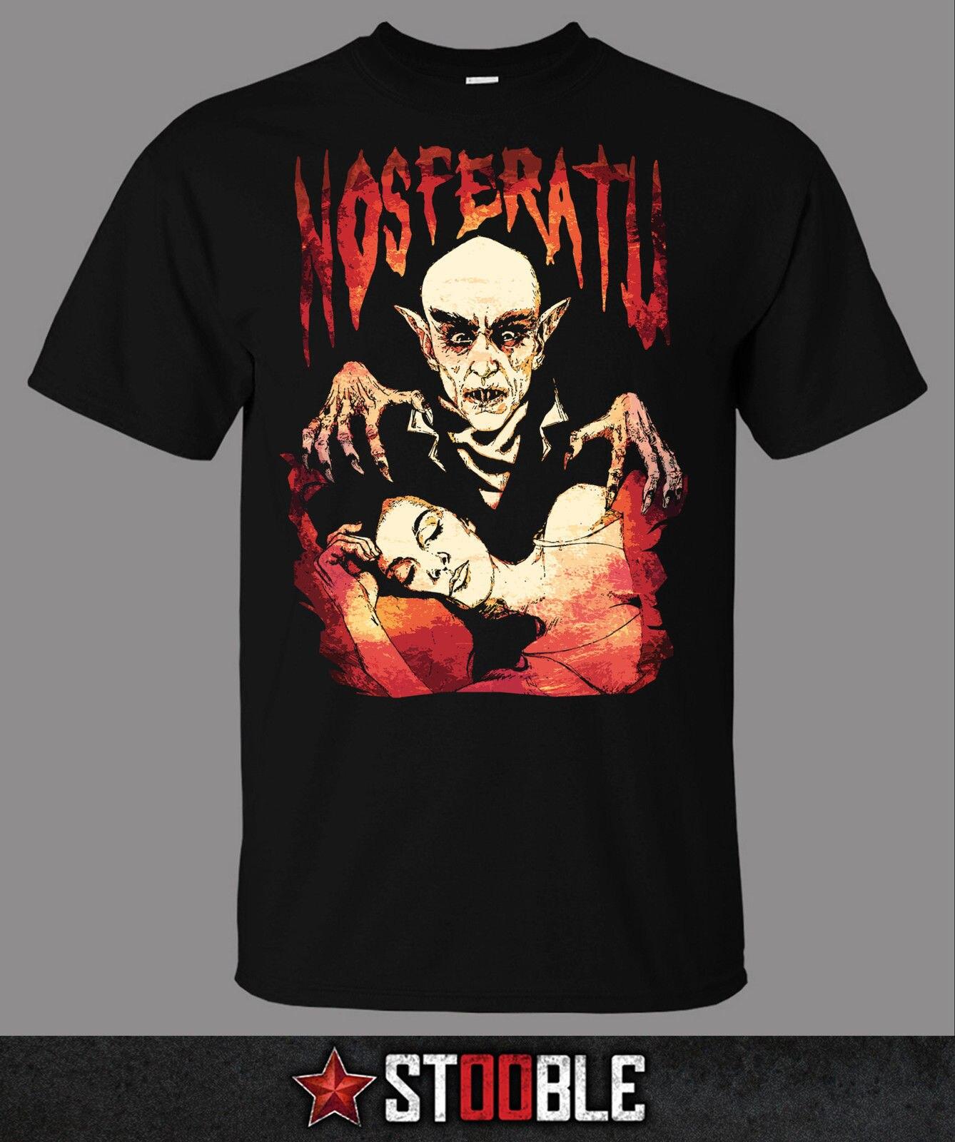 Camiseta de Nosferatu-directo de las nuevas camisetas de inventario camisetas divertidas camisetas nuevas Unisex divertida impresión Casual de alta calidad