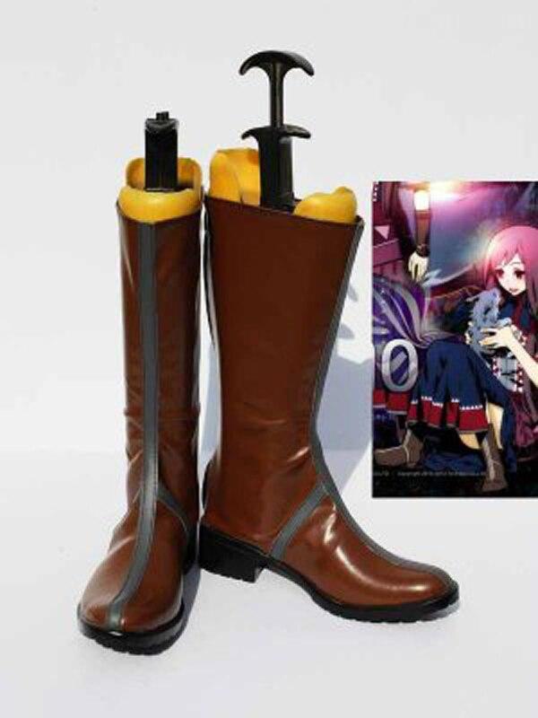 Unlight bestia domador Palmo a Palmo marrón botas de Halloween Cosplay zapatos juego fiesta Cosplay botas hecho a medida para adultos zapatos de mujer Zapatos