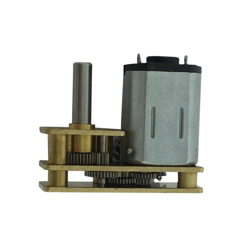 JGA1024-N20 миниатюрный DC мотор-редуктор 3в-12в 21об/мин 105 об/мин 222 об/мин