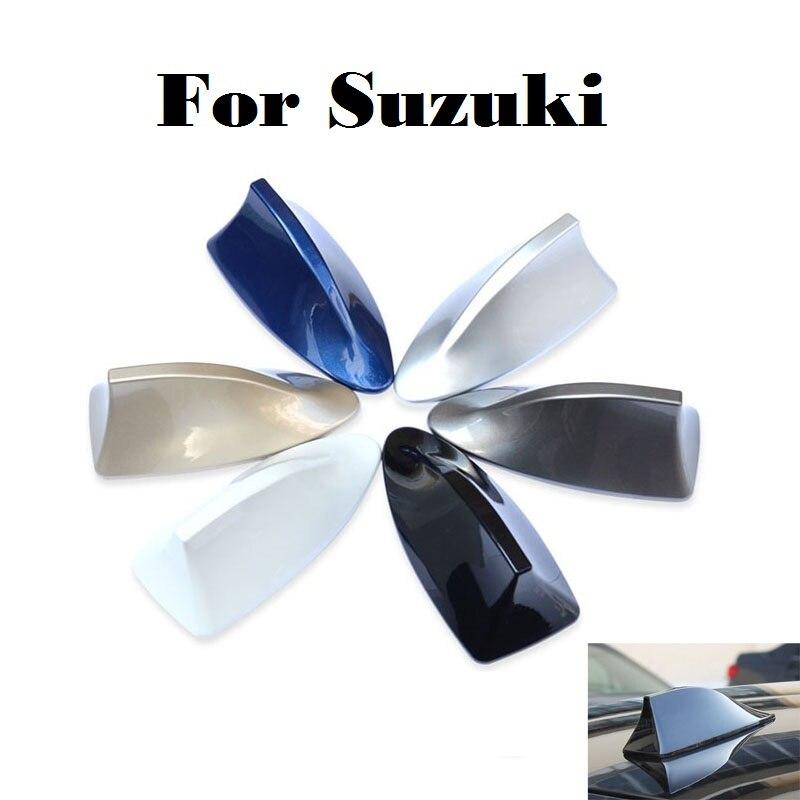 2017 antena tipo aleta de tiburón de coche antenas AM/señal de Radio FM para Suzuki Aerio Baleno Celerio Cervo Escudo Forenza Vitara Grand Vitara