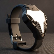 Reloj Digital Hombre Men Sport Watches Creative Desjgn LED Digital Dual Movement Military Electronic