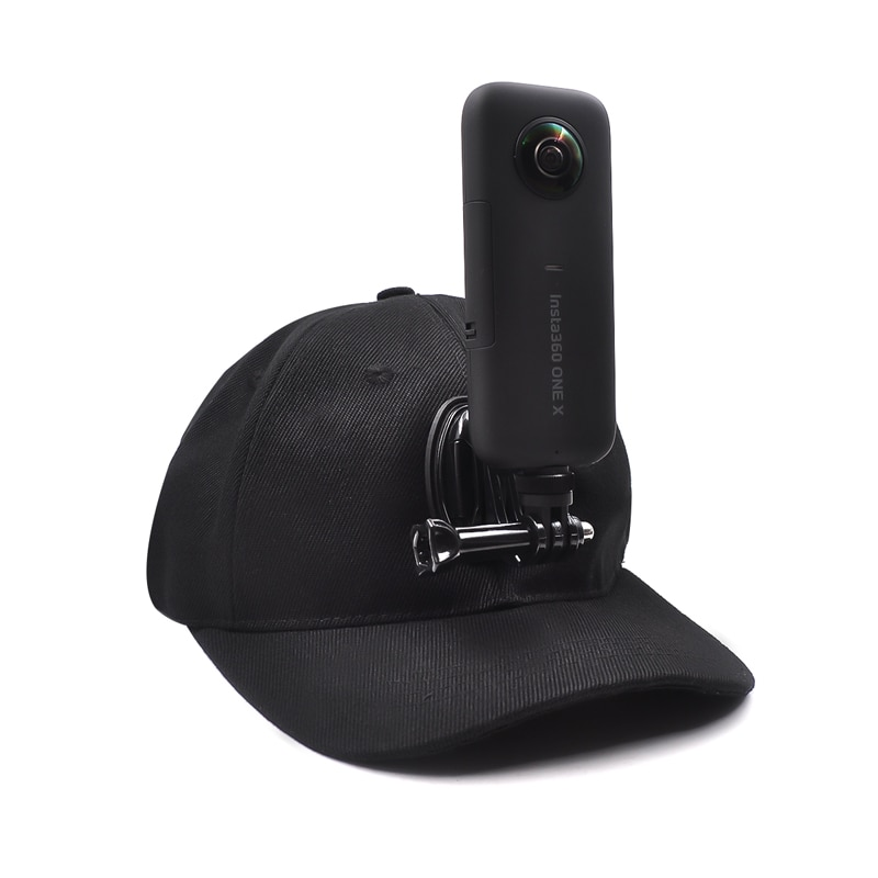 Liga de Alumínio Montagem com Chapéu para Insta360 Polegada Adaptador Base Tripé Suporte um x Câmera Ricoh Theta sc 360 Graus 1 – 4