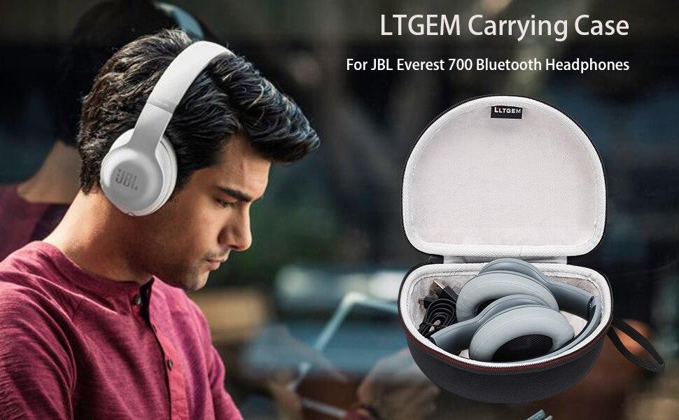 LTGEM Harte Fall für JBL Everest 700/300, E45BT, E55BT Drahtlose Bluetooth Um-Ohr Kopfhörer