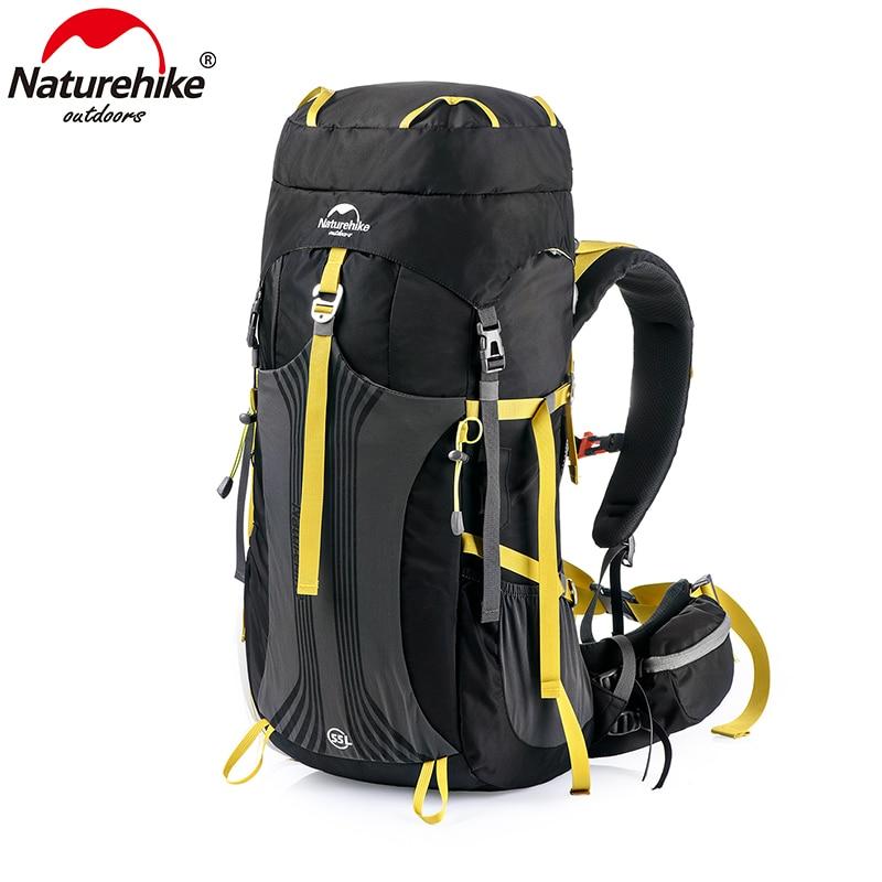 Рюкзак Naturehike 55L 65L, профессиональная походная сумка с системой подвески, NH16Y065-Q
