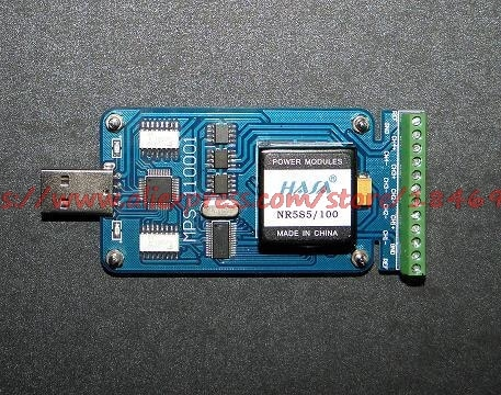 MPS-110001 isolated 24 bit USB data acquisition card