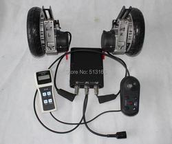 """Conhismotor 24 v 180 w 8 """"brushless cadeira de rodas elétrica kits de conversão diy com ímã elétrico dispositivo programável de travagem"""