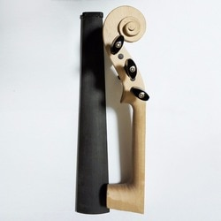 5 струн Stradivarius 4/4 клен белая скрипка шейный + эбеновый гриф гайки колышки