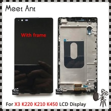 10 pièces de haute qualité 5.3 pour LG X Power X3 K220ds K220dsK K210 K450 K220 écran daffichage LCD avec assemblage de numériseur décran tactile