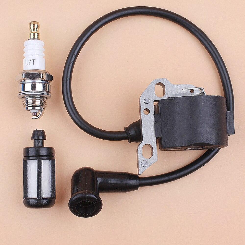 Magneto de bobina de encendido electrónico Kit para STIHL 015,015AV, 015L Chainsaws reemplazo 1114-404-3200 11144043200