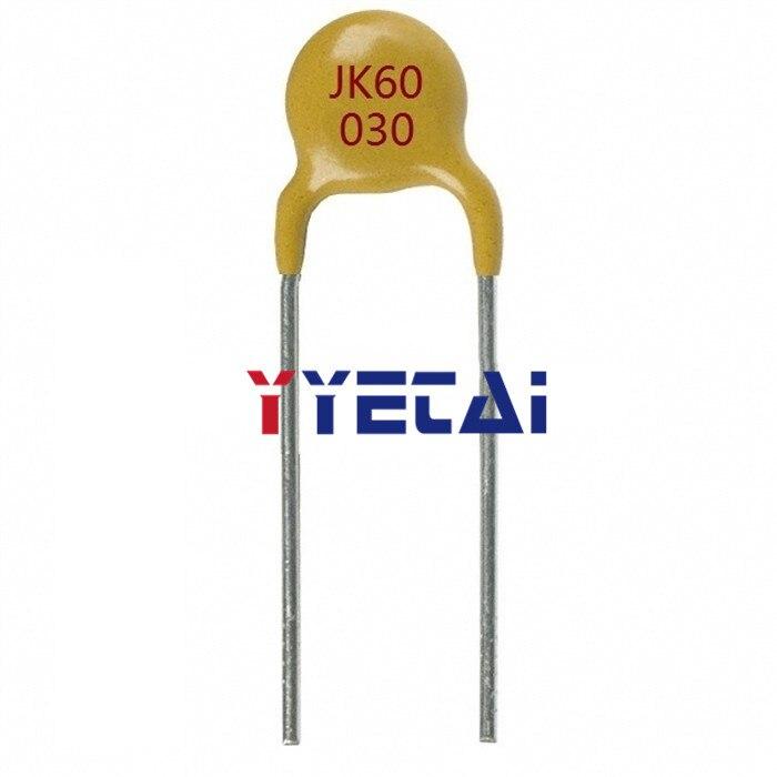 Fusible en línea de recuperación automática YongYeTai JK60-030 60V 300MA 0.3A envío gratis