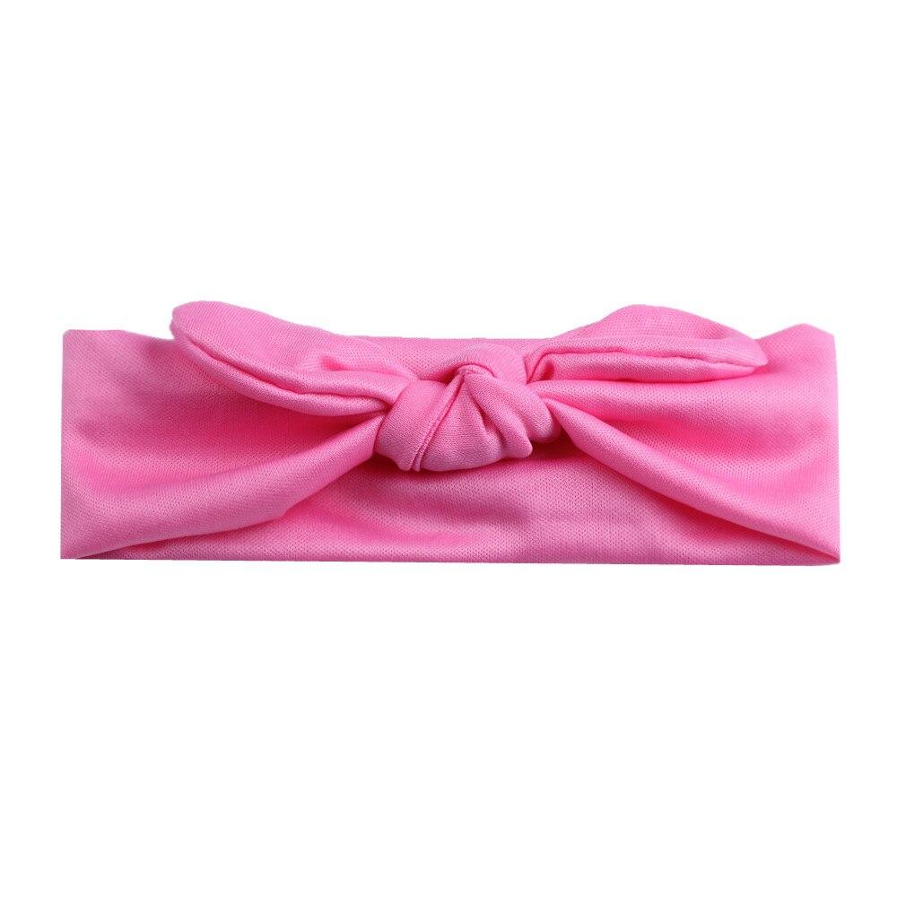 Baby Kids Girls Rabbit Bow Ear Hairband Headband Turban Knot Head Wraps baby girl headbands