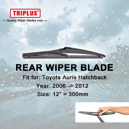 "Limpiaparabrisas trasero para Toyota Auris Hatchback (2006-2012), 1 unidad de 12 ""y 300mm, limpiaparabrisas trasero para coche, limpiaparabrisas trasero"