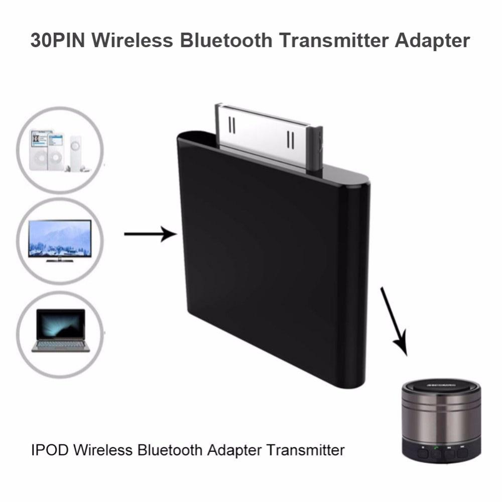 Adaptador de transmisor Bluetooth, Dongle de Audio Hifi para iPod Mini, para iPod Nano, adaptador de receptor auxiliar de tarjeta inalámbrica para auriculares