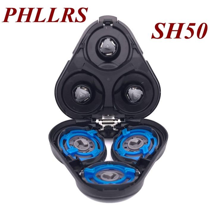 SH50 Lame De Rasoir Tête De Rechange Pour rasoir Philips S5000 S5570 S5560 S5380 S5370 S5230 S5210 S5130 S5110 S5095 S5090 S5091