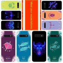 Téléphone pour Samsung Galaxy S10 E S9 S8 Plus S7 s6 Edge s10 plus s5 Note 10 9 8 étui de protection signes du zodiaque
