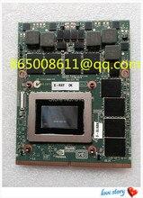 무료 EMS DHL GTX675M GTX 675 메터 2 그램 N13E-GS1-A1 그래픽 카드 모듈 클레 X511 X711 X7200 X8100 P150HM P170HM P150EM P150SM