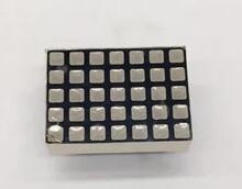 50 pièces x 3mm 5*7 rouge blanc carré LED matrice de points numérique Tube 5x7 Module daffichage 1357AS 1357BS 1357BW pour perles de lumière dascenseur