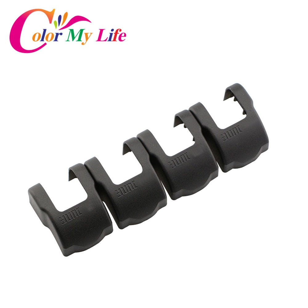 Color My Life Car Styling Door Stopper Protector Cover Door Lock Cover for Peugeot 3008 GT 308 408 2008 508 for CITROEN C4 Parts
