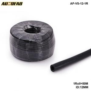 Black ID:12MM Silicone Vacuum Hose Pipe High Performance Tubing-50M For Honda Accord CG 2/4 Door Jdm AF-VS-12-1R