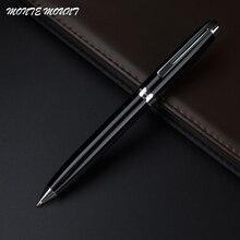 MONTE MOUNT Ballpoint Pen with original fashion gift fountain pen Executive good quality pen Black hollow clip