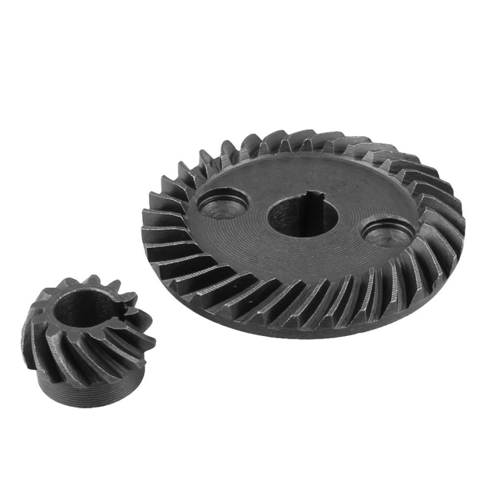 Uxcell 1 pièces métal de 8mm   Axe Dia 10mm, arbre Dia spirale, ensemble dengrenages coniques, pour Makita 9523 ponceuse dangle de remplacement de roues à pignon
