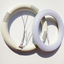 Warm white pure white t9 led circular tube g10q 12w 225mm light lamp