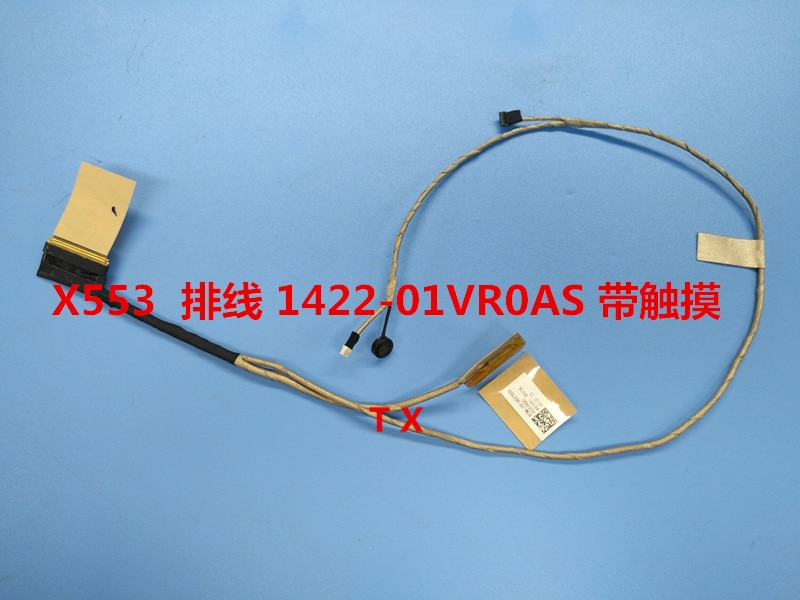 Nuevo Cable flexible de vídeo LED LCD para ASUS X553MA F553M X553S X553SA X553M con Touch 40Pin, con micrófono PN 1422-01VR0AS