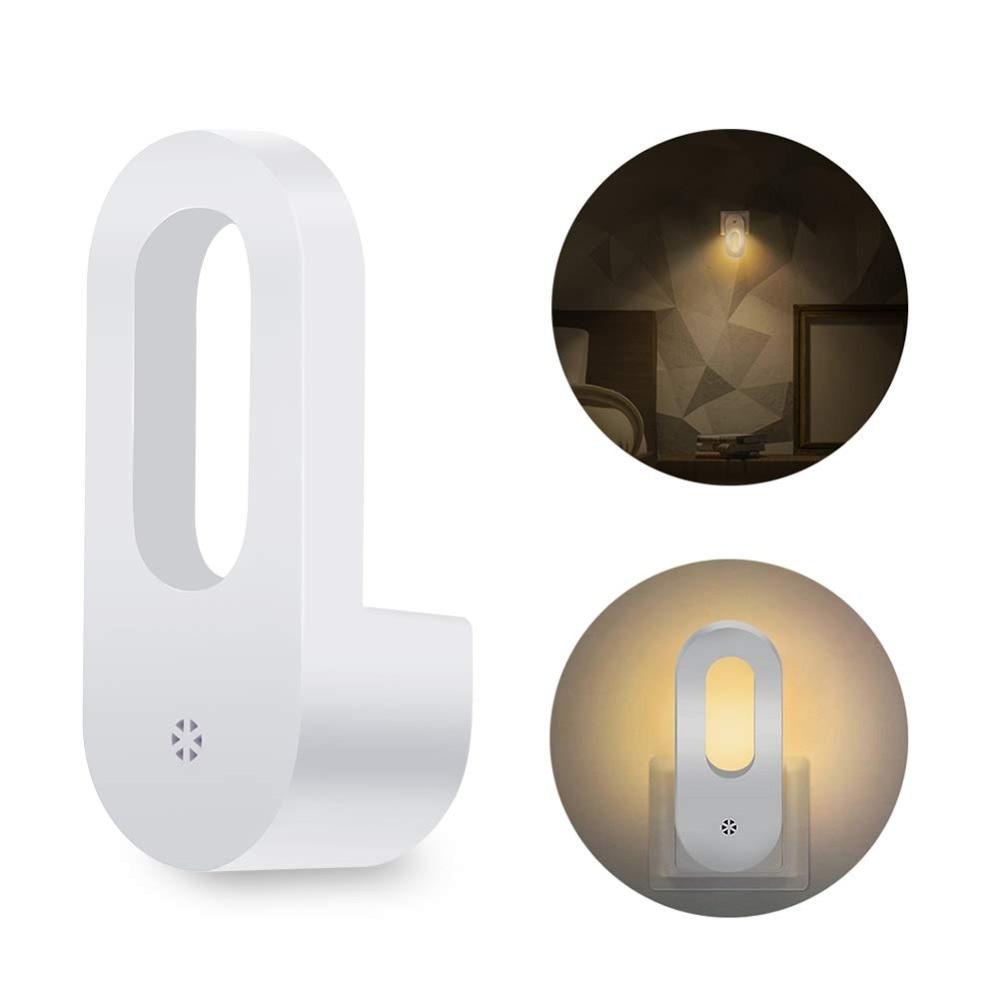 Plug in Night Light With Dusk to Dawn Sensor , Auto Adjustable Brightness,Wall Nightlight for Kids Room, Hallway, Bedroom