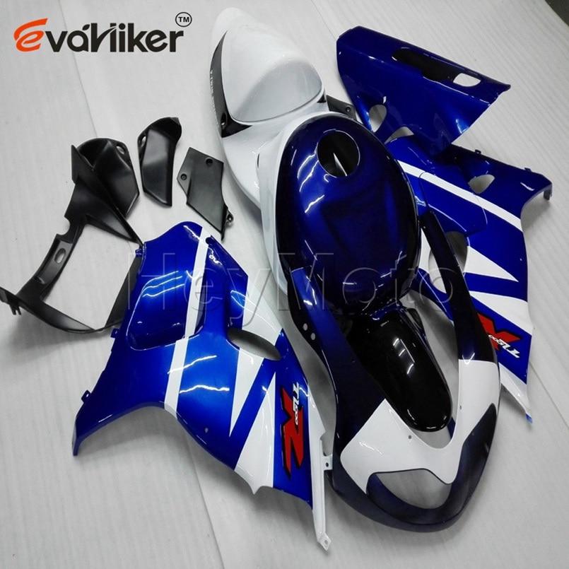 Carène plastique pour TL1000R 1998-2003 1998 1999 2000 2001 2002 2003 + vis + moule dinjection bleu ABS