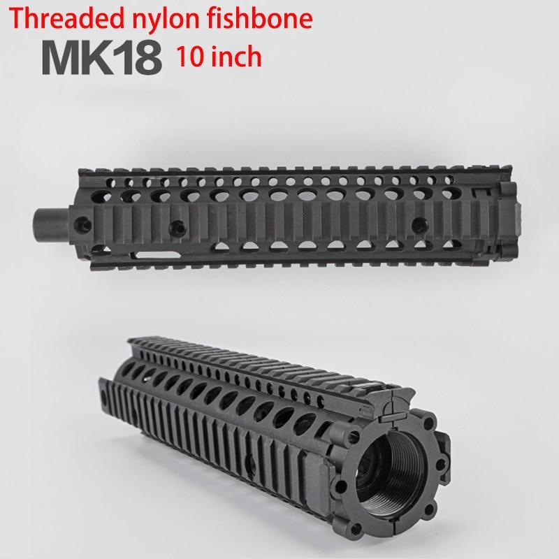 PB bolso juguetón Bing Feng mk18 nylon espina de pescado M4 pistola de balas de agua eléctrica pistola de bola de gel accesorios mejor regalo T29