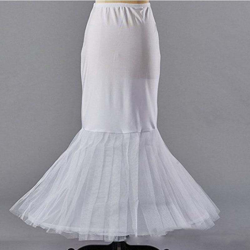 Droppshiping boda enagua de novia de Hoopless crinolina mitad Slip baile enagua falda dg88